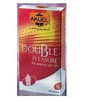 AKUEL Double Pleasure 6 pezzi