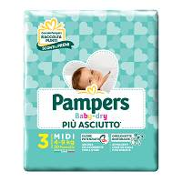 PAMPERS BABY DRY DOWNCOUNT MID