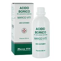 ACIDO BORICO MV*3% 200ML