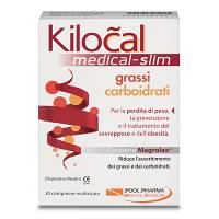 KILOCAL MEDICAL GRAS/CAR 30CPR