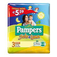 PAMPERS SOLE&LUNA FLASH 23PZ