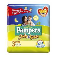 PAMPERS SOLE&LUNA MIDI 23P OFS