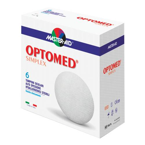 MASTER-AID OPTOMED TAMPONI 65x57mm 6pz